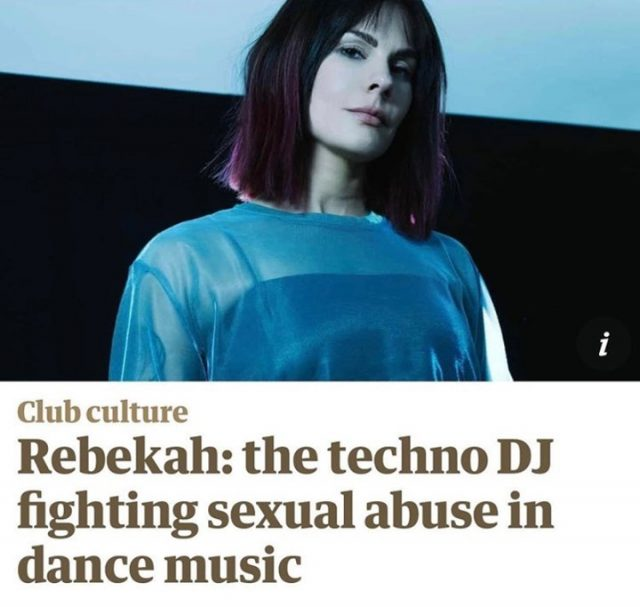 """""""After years of merely surviving, a now thriving Rebekah feels her career is close to its peak... It's from this position of hard-won recognition that she finally felt comfortable to address sexual harassment and assault in electronic music""""  Solidarity with @djrebekah and the countless others who have similar stories to hers.   It is vital that venues have robust policies in place and a staff team trained to support survivors and intervene effectively.   We've been working with venues, musicians and event organisers since 2014 to strengthen their response to sexual harassment and abuse. We believe that nights out should be about fun and freedom, not fear. Let's change the party to change the world!    #GoodNightOutCampaign #ConsentCulture #EndingHarassment #Grassroots #Feminism #Women #London #Music #TimesUp #Venue #Consent #Training"""