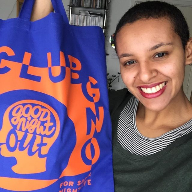 *Bags by @clairo plays softly in the background*  Here's Jess 🌟 glowing 🌟 while proudly showing off the Club GNO tote bag. Thank you to everyone who has signed up so far 🥰. We are so excited to share the resources and workshops that we have been working on with you over the next couple of months. Check your inboxes 📮!  Club GNO is a new way to be part of the movement for safer nightlife. For £5 or more a month, members receive free access to specialist skills workshops, online toolkits, exclusive merch and a growing community. You can pause or cancel at any time, and free membership is also available because funds should never be a barrier.⠀⠀    #GoodNightOutCampaign #ConsentCulture #EndingHarassment #Grassroots #Feminism #Women #London #Music #TimesUp #Venue #Consent #Training #ClubGNO